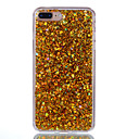 cheap iPhone Cases-Case For Apple iPhone X / iPhone 8 Translucent Back Cover Glitter Shine Hard Acrylic for iPhone X / iPhone 8 Plus / iPhone 8