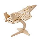 رخيصةأون أغطية-Muwanzi قطع تركيب3D تركيب النماذج الخشبية طيارة المقاتل بناء مشهور اصنع بنفسك خشبي كلاسيكي للجنسين ألعاب هدية