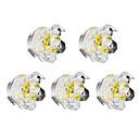 저렴한 LED 스팟 조명-1 W LED 비즈 밝기조절가능 LED 스포트라이트 따뜻한 화이트 220 V