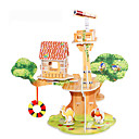 رخيصةأون أجزاء التحديث-قطع تركيب3D تركيب مجموعات البناء بناء مشهور بيت اصنع بنفسك ورق صلب كلاسيكي أنيمي كرتون للأطفال للجنسين هدية