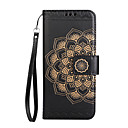 Buy Case Sony Xperia XA1 Ultra Cover Card Holder Wallet Flip Embossed Pattern Full Body Mandala Flower Hard PU Leather XA XP Z5