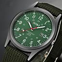 ieftine Becuri LED Bi-pin-Bărbați Ceas de Mână câmp de ceas Negru / Maro / Verde Rezistent la Apă Calendar Creative Analog Charm Casual Modă Elegant Aristo - Maro Verde camuflare verde Un an Durată de Viaţă Baterie