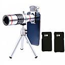 저렴한 갤럭시 A 시리즈 케이스 / 커버-lingwei 18 배 줌 samsung 카메라 망원 렌즈 광각 렌즈 / 삼각대 / 전화 홀더 / 하드 케이스 / 가방 / 청소용 천 (s8 / s8 edg)