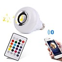 tanie Kontrolery RGB-YWXLIGHT® 12W 1000lm E27 Inteligentne żarówki LED 28 Koraliki LED SMD Bluetooth Przysłonięcia Dekoracyjna Zdalnie sterowana RGB 100-240V