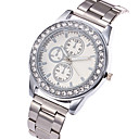 Buy Women's Casual Watch Fashion Wrist watch Quartz Stainless Steel Band Charm Luxury Elegant Cool Silver Gold Rose