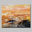 ieftine Inele-Hang-pictate pictură în ulei Pictat manual - Peisaje Abstracte Abstract Modern Fără a cadru interior