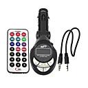 cheap Valve Caps-Lute Shaped FM Transmitter Adapter Car Kit MP3 Player Remote Control SD USB Slot --1 pcs