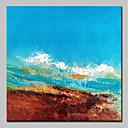 ieftine Ghidon & Mânere & Suport-Hang-pictate pictură în ulei Pictat manual - Abstract Abstract Modern Fără a cadru interior