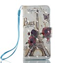 cheap iPod Cases/Covers-Case For iTouch 5/6 Wallet / Card Holder / with Stand Full Body Cases PU Leather Hard