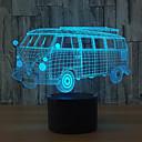 hesapli Fırın Araçları ve Gereçleri-1set 3D Gece Görüşü Dokunmatik 7-Renk USB Dokunmatik Sensör Renk Değiştiren