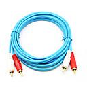 hesapli DVI-2RCA Kablo, 2RCA to 2RCA Kablo Erkek - Erkek 1.5M (5 ft)