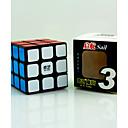 hesapli Çocuklar Bulmacalar-Rubik küp QIYI 3*3*3 Pürüzsüz Hız Küp Sihirli Küpler Stres Gidericiler Eğitici Oyuncak bulmaca küp Pürüzsüz Etiket Çocuklar için Yetişkin Oyuncaklar Unisex Genç Erkek Genç Kız Hediye
