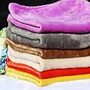 hesapli Kedi Oyuncakları-Köpek Yataklar Evcil Hayvanlar Battaniye Solid Sıcak / Katlanabilir / Miękki Mavi / Pembe / Herhangi Bir Renk Evcil hayvanlar için