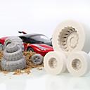 hesapli Fırın Araçları ve Gereçleri-Bakeware araçları Silikon Çocuklar / Tatil / Pişirme Aracı Candy Yuvarlak Pasta Kalıpları 1pc