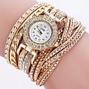 ieftine Ceasuri Damă-Pentru femei Quartz Ceas Brățară Chineză imitație de diamant PU Bandă Charm Lux Casual Ceas de diamant simulat Unic Watch Creative