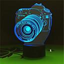 お買い得  LED アイデアライト-1セット LEDナイトライト / 3Dナイトライト 変更 USB 変色 / 創造的 / デコレーション 5 V アーティスティック / LED / 現代コンテンポラリー