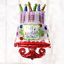 hesapli Konfeti-büyük boy folyo balonları mutlu yıllar parti dekorasyonları doğum günü partisi balonları