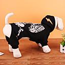 ieftine Câini Gulere, hamuri și Curelușe-Câine Costume Haine Hanorca Îmbrăcăminte Câini Cranii Negru Rosu Terilenă Costume Pentru Primăvara & toamnă Iarnă Petrecere Cosplay Halloween