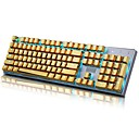 cheap LED Corn Lights-E-Element 104 PBT Double Shot Injection Backlit Golden Metal Color Keycaps for all Mechanical Keyboards with Key Puller