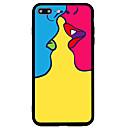 hesapli iPhone Kılıfları-Pouzdro Uyumluluk Apple iPhone 7 / iPhone 7 Plus Buzlu / Temalı Arka Kapak Seksi Kadın Sert Arkilik için iPhone 7 Plus / iPhone 7 / iPhone 6s Plus
