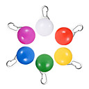 hesapli Yenilikçi LED Işıklar-Hkv® yuvarlak led pet ışık yayan köpek kurulu anti-kayıp çan flaş pet köpek kedi yavrusu led güvenlik gece lambası kolye