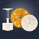 hesapli Fırın Araçları ve Gereçleri-6 adet üçgen ay kek kalıbı 1 el basın 5 çiçek fan şekli ile kalıp 50g kek kalıbı