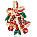 cheap Brooches-Women's Synthetic Diamond Brooches - Flower Ladies Brooch Jewelry Gold / Silver For Christmas