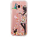 Buy Case Samsung Galaxy S8 S7 Ultra-thin Transparent Pattern Back Cover Sexy Lady Soft TPU Plus edge S6 plus