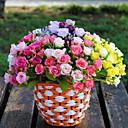 hesapli Temizlik Malzemeleri-2 şube Plastik Others Güller Masaüstü Çiçeği Yapay Çiçekler