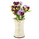 povoljno Novčanici i torbice-Umjetna Cvijeće 1pcs Podružnica Pastoral Style Roses Cvjeće za stol