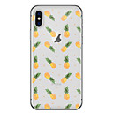 cheap iPhone Cases-Case For Apple iPhone X / iPhone 8 Transparent / Pattern Back Cover Fruit Soft TPU for iPhone X / iPhone 8 Plus / iPhone 8