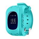 hesapli PS4 Aksesuarları-Akıllı İzle Q50-G için Android Bluetooth GPS Çok-Fonksiyonlu Pedometre Arama Hatırlatıcı Aktivite Takipçisi Uyku Takip Edici / Alarm Saati / Yer Çekimi Sensörü / 72-100 / MTK6261