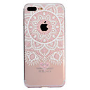 abordables Coques d'iPhone-Coque Pour Apple iPhone X iPhone 8 Plus Motif Coque Mandala Impression de dentelle Flexible TPU pour iPhone X iPhone 8 Plus iPhone 8