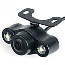 abordables Luces Interiores de Coche-Ziqiao® cámara de visión trasera a prueba de agua con luz led