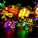 hesapli LED Şerit Işıklar-5m Dizili Işıklar 20 LED'ler Beyaz / Mavi / Sarı <5 V 1pc
