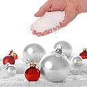 preiswerte Ausgefallene LED-Lichter-4st künstliche schneeflocken gefälschte magische instant schnee festival partydekorationen für weihnachten hochzeit künstliche schnee