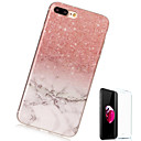 cheap Faucets-Case For Apple iPhone X / iPhone 8 Plus Pattern Back Cover Marble Soft TPU for iPhone X / iPhone 8 Plus / iPhone 8