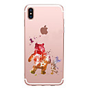 cheap iPhone Cases-Case For Apple iPhone X / iPhone 8 Transparent / Pattern Back Cover Cartoon Soft TPU for iPhone XS / iPhone XR / iPhone XS Max