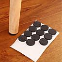 hesapli Banyo Gereçleri-Çok İşlevli siyah kendinden yapışkanlı mobilya bacak masa sandalye kanepe ayakları zemin kaymaz mat yapışkan ped koruyucu