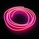ieftine Fâșii Becurie LED-lungime 1 buc 5m lumină string 0led dc12v el alb / roșu / albastru / roz / verde / portocaliu / albastru deschis
