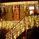 رخيصةأون تزيين المنزل-عيد الميلاد جارلاند أدى الستار جليد سلسلة ضوء 220 فولت 1.5 متر 48 المصابيح انخفاض داخلي أدى حزب حديقة المرحلة ضوء الزخرفية في الهواء
