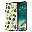 저렴한 아이폰 케이블 & 어댑터-케이스 제품 Apple iPhone X / iPhone 8 Plus 패턴 뒷면 커버 과일 소프트 TPU 용 iPhone X / iPhone 8 Plus / iPhone 8