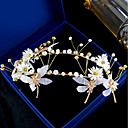رخيصةأون مجوهرات الشعر-نسائي زهري أغطية الرأس مراسم حفلة ليلية