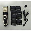 ieftine Câini Articole şi Îngrijire-Pisici Câine Seturi de Îngrijire Trimere pentru păr Mașină de Tuns Părul Fără Cablu Aparate de tuns Portabil Mini Reîncărcabil Negru