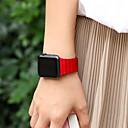 Недорогие Аксессуары для Wii-Ремешок для часов для Apple Watch Series 4/3/2/1 Apple Кожаный ремешок Натуральная кожа Повязка на запястье