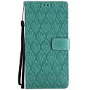 رخيصةأون إكسسوارات سامسونج-غطاء من أجل Samsung Galaxy Note 8 / Note 4 / Note 3 محفظة / حامل البطاقات / مع حامل غطاء كامل للجسم لون سادة قاسي جلد PU