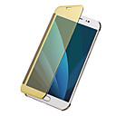 voordelige Overige hoesjes / covers voor Samsung-hoesje Voor Samsung Galaxy J7 (2017) J5 (2017) Beplating Spiegel Flip Effen Kleur Hard voor