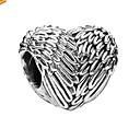 ieftine Mărgele-DIY bijuterii 1 buc Χάντρες Aliaj Argintiu Inimă Şirag de mărgele 0.5 cm DIY Coliere Brățări