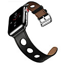 저렴한 애플 시계 밴드-시계 밴드 용 Apple Watch Series 3 / 2 / 1 Apple 모던 버클 가죽 손목 스트랩