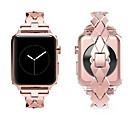 Недорогие Кейсы для Apple Watch-Ремешок для часов для Apple Watch Series 4/3/2/1 Apple Современная застежка Нержавеющая сталь Повязка на запястье